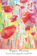 Pete Caswell - Poppies Floating