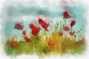 Francis Leavey - Poppies