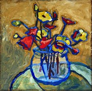 Yvonne Gaudet - Poppies in Bowl