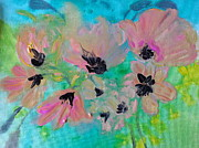 Poppies Field Paintings - Poppies in Situ by Nikki Dalton