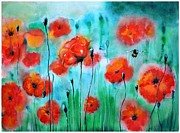 Tatiana Tatti Lobanova - Poppies
