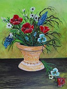 Rhonda Lee - Poppy Bouquet Still