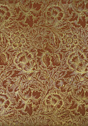 Featured Tapestries - Textiles Posters - Poppy Design 1880 Poster by William Morris