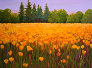 Nancy Jolley Art - Poppy Fields Forever by Nancy Jolley