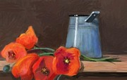 Tancau Emanuel - Poppy Flowers And Kettle