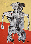 Figurative-abstract Posters - Populus No. 1  Poster by Mark M  Mellon