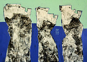 Outsider Art Painting Prints - Populus No. 2 Print by Mark M  Mellon
