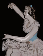 Silk Screen Print Prints - Porcelain Figurine V Print by Laurie Pike