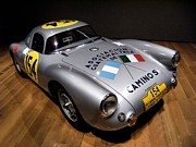 German Race Car Prints - Porsche 550 Le Mans Print by Lance Vaughn