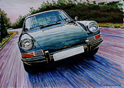 Classic Porsche 911 Posters - Porsche 911 Poster by Rimzil Galimzyanov