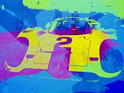 Porsche Racing Posters - Porsche 917 Front End Poster by Irina  March