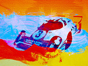 Porsche Racing Posters - Porsche 917 Martini and Rossi Poster by Irina  March