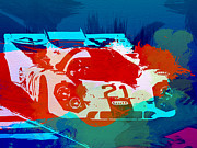 German Classic Cars Prints - Porsche 917 Racing 1 Print by Irina  March