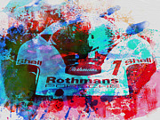 Porsche Racing Posters - Porsche 917 Rothmans 2 Poster by Irina  March