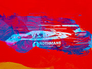 Porsche Racing Posters - Porsche 917 Rothmans 4 Poster by Irina  March
