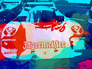 Old Cars Photos - Porsche 956 Jagermeister by Irina  March