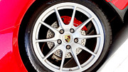 Tire Mixed Media Originals - Porsche by Dennis Dugan