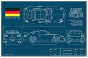 Gt3 Prints - Porsche GT3 911/Type 997 Print by Douglas Switzer