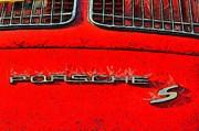 Porsche S Logo Print by George Atsametakis