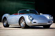 Automobile Photo Prints - Porsche Spyder 550 Print by Peter Tellone