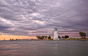 Catherines Prints - Port Dalhousie Dusk Print by Charline Xia