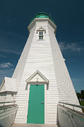 Guy Whiteley Photo Originals - Port Dalhousie Lighthouse 9057 by Guy Whiteley