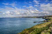 Arthurian Legend Prints - Port Isaac to Tintagel View Print by Chris Thaxter