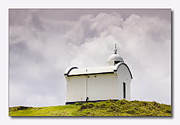 Land Scape Digital Art Prints - Port Macquarie nsw Light House 01 Print by Kevin Chippindall