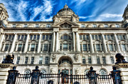 Liverpool Digital Art Prints - Port of Liverpool Building - Liverpool Print by George Standen