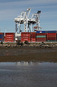 Shipping Posters - Port of Oakland 5D22243 Poster by Wingsdomain Art and Photography