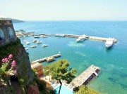 Flowers Photo Originals - Port of Sorrento by Marilyn Dunlap