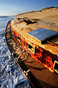 Storm Prints Metal Prints - Port Side Down Captain - Outer Banks Metal Print by Dan Carmichael