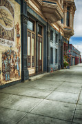 Store Fronts Posters - Port Townsend Poster by Dee Browning