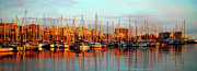 Sailing Ship Prints - Port Vell - Barcelona Print by Juergen Weiss