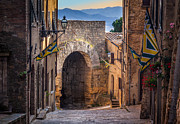 Porta Dell'arco Print by Inge Johnsson