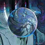 Spheres Digital Art - Portal to Divinity by Robin Moline