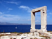 Greece Photos . Photos - Portara on Naxos by Vonelle Swanson