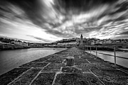 Cornwall Prints - Porthleven Pier Print by John Farnan