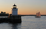 Lighthouses - Portland Breakwater Light by Juergen Roth