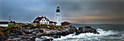 Portland Head Lighthouse 1 Print by Glenn Gordon