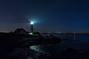 Nubble Lighthouse Prints - Portland head  Lighthouse 3 Print by Emmanuel Panagiotakis