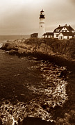 Me Photos - Portland Head Lighthouse by Skip Willits