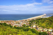 Chesil Beach Prints - Portland Print by Joana Kruse