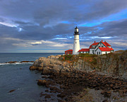 Safe Haven Prints - Portland Lighthouse Print by Jack Nevitt