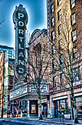 Spencer Mcdonald Art - Portland Theater by Spencer McDonald
