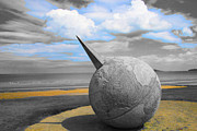 Beach Photograph Digital Art - Portmanuck Sphere Ireland by Jo Collins