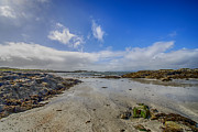 Highlands Of Scotland Prints - Portnadoran Beach Print by Chris Thaxter