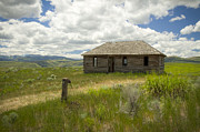 Scenic Idaho Prints - Portneuf Valley Cabin Print by Idaho Scenic Images Linda Lantzy