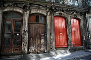 Old Doors Photos - Porto Door Colors by John Rizzuto