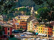 Portofino Italy Photo Framed Prints - Portofino Framed Print by Carl Jackson